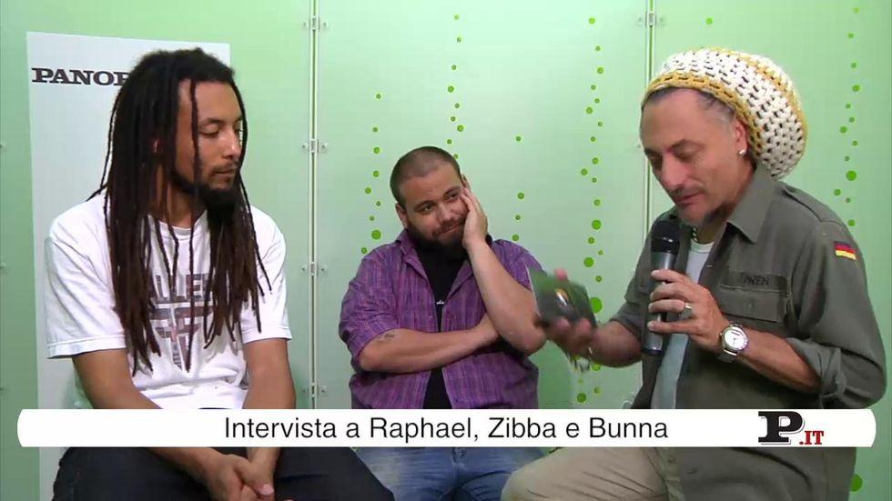 Raphael, Zibba e Bunna l'intervista