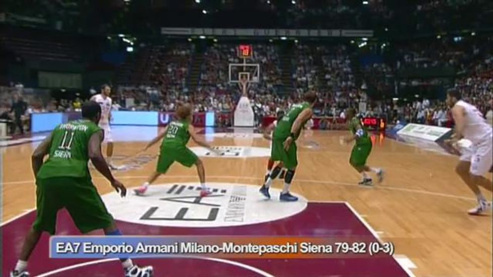 Milano - Siena, gara 3 - Video