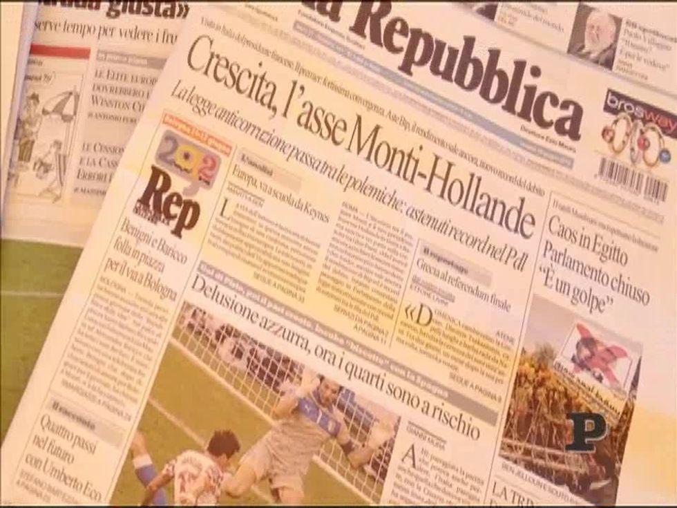 Italia: Europei a rischio, ma il bar ci crede