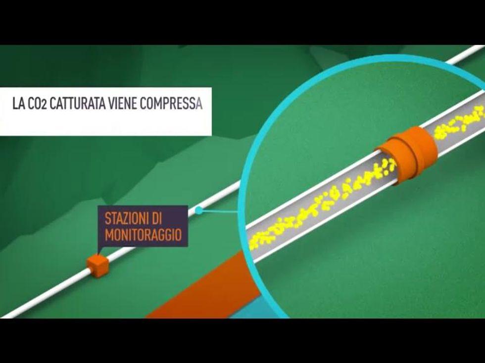 Come funziona un impianto per il sequestro e la cattura dell'anidride carbonica?