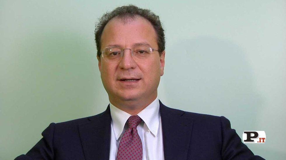 Il direttore Giorgio Mulè presenta il nuovo numero di Panorama, in edicola dal 13 settembre