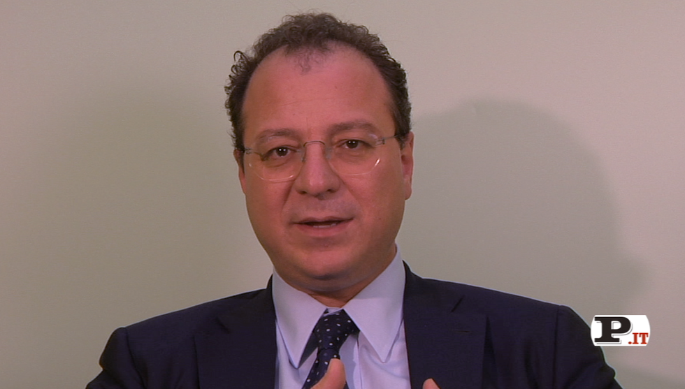 Il direttore Giorgio Mulè presenta il nuovo numero di Panorama, in edicola dal 20 settembre