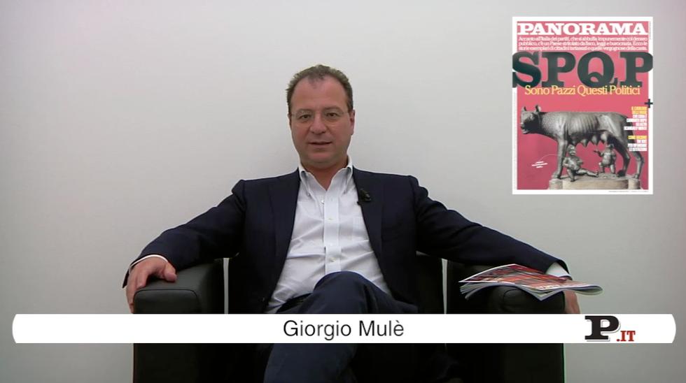 Il direttore Giorgio Mulè presenta il nuovo numero di Panorama, in edicola dal 27 settembre