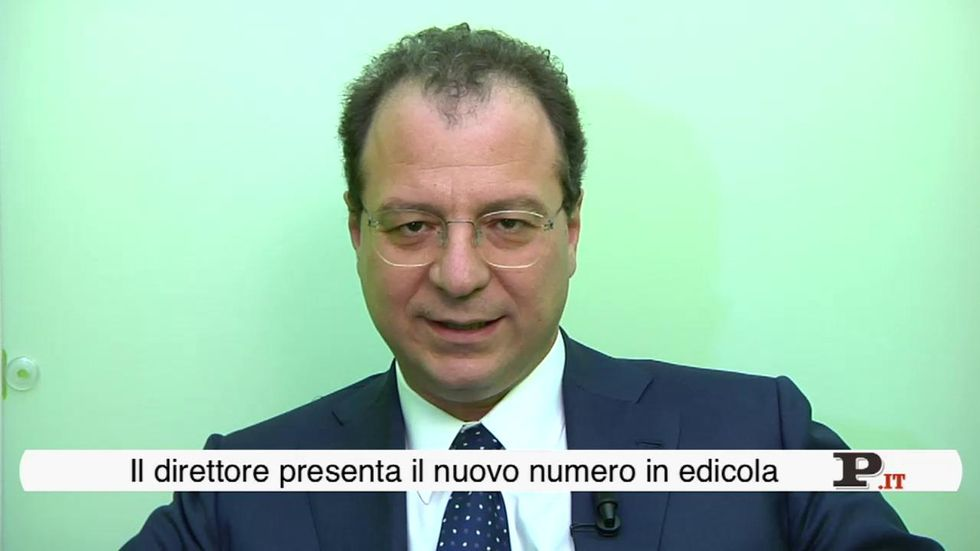 Il direttore Giorgio Mulè presenta il nuovo numero di Panorama in edicola dal 19 luglio