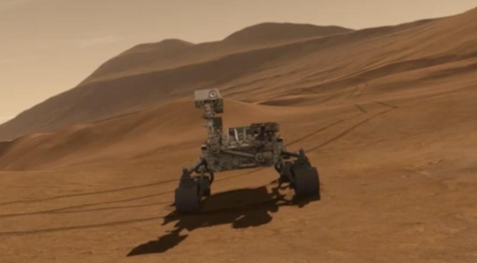 I primi giorni di Curiosity su Marte: un video straordinario
