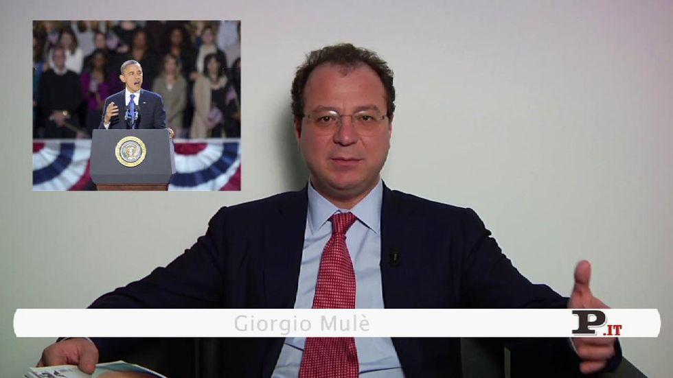 Il direttore Giorgio Mulè presenta il nuovo numero di Panorama, in edicola dall'8 novembre
