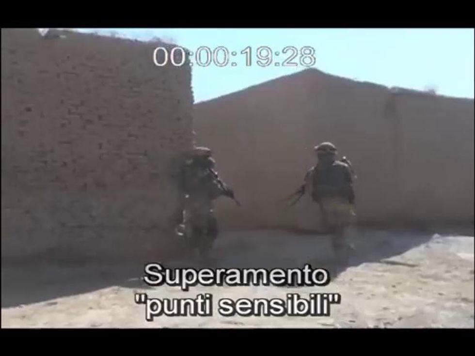 Alpini in Afghanistan, video cronaca di un' imboscata