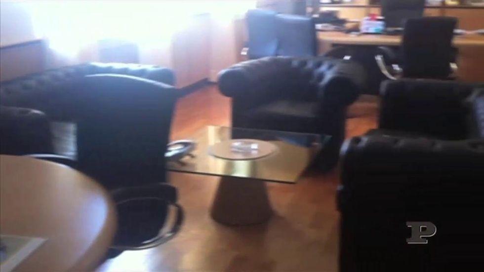 Esclusivo: il video dell'ufficio di Fiorito