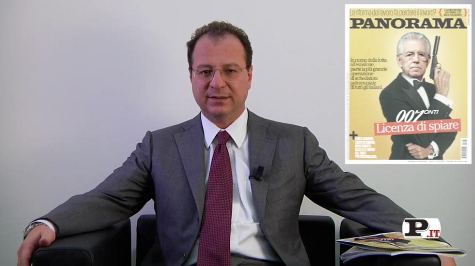 Il direttore Giorgio Mulè presenta il nuovo numero di Panorama, in edicola dal 11 ottobre