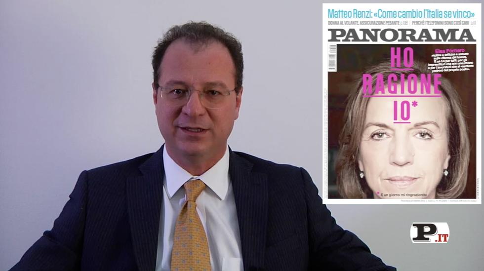 Il direttore Giorgio Mulè presenta il nuovo numero di Panorama, in edicola dal 18 ottobre