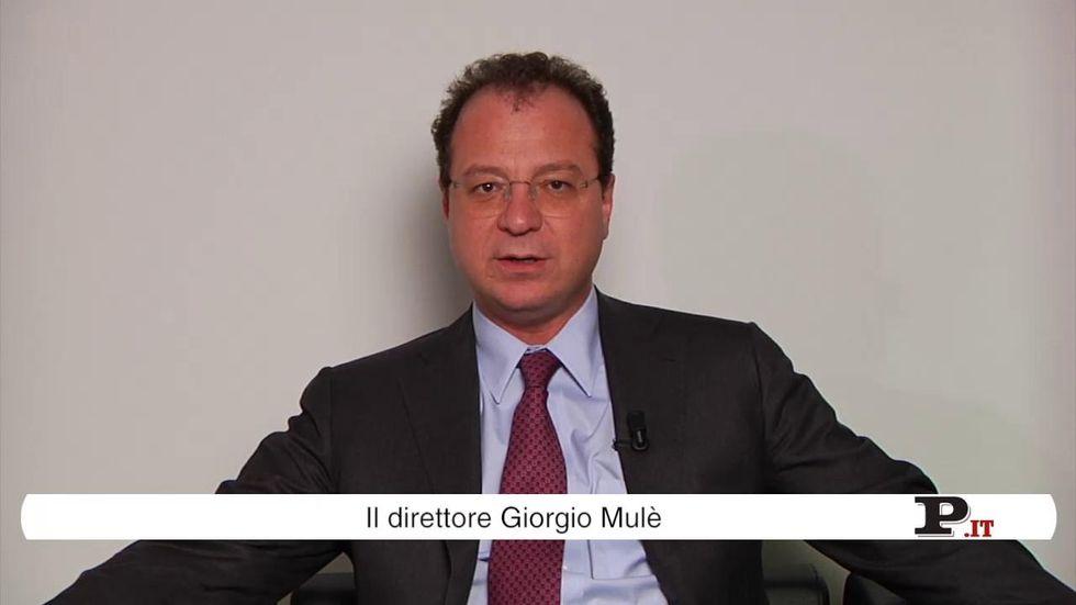 Il direttore Giorgio Mulè presenta il nuovo numero di Panorama, in edicola dal 25 ottobre