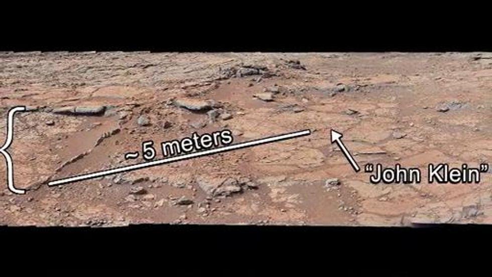 Curiosity: continuano le analisi del suolo marziano