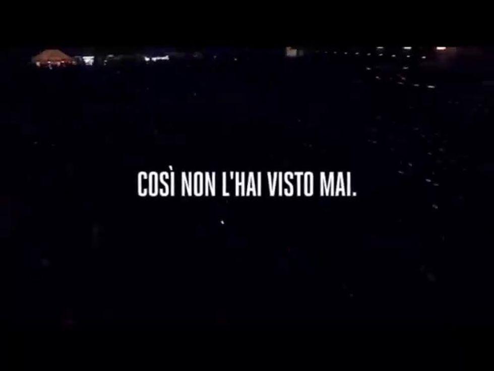 Live Kom 011, il film dell'indimenticabile concerto a S.Siro di Vasco Rossi
