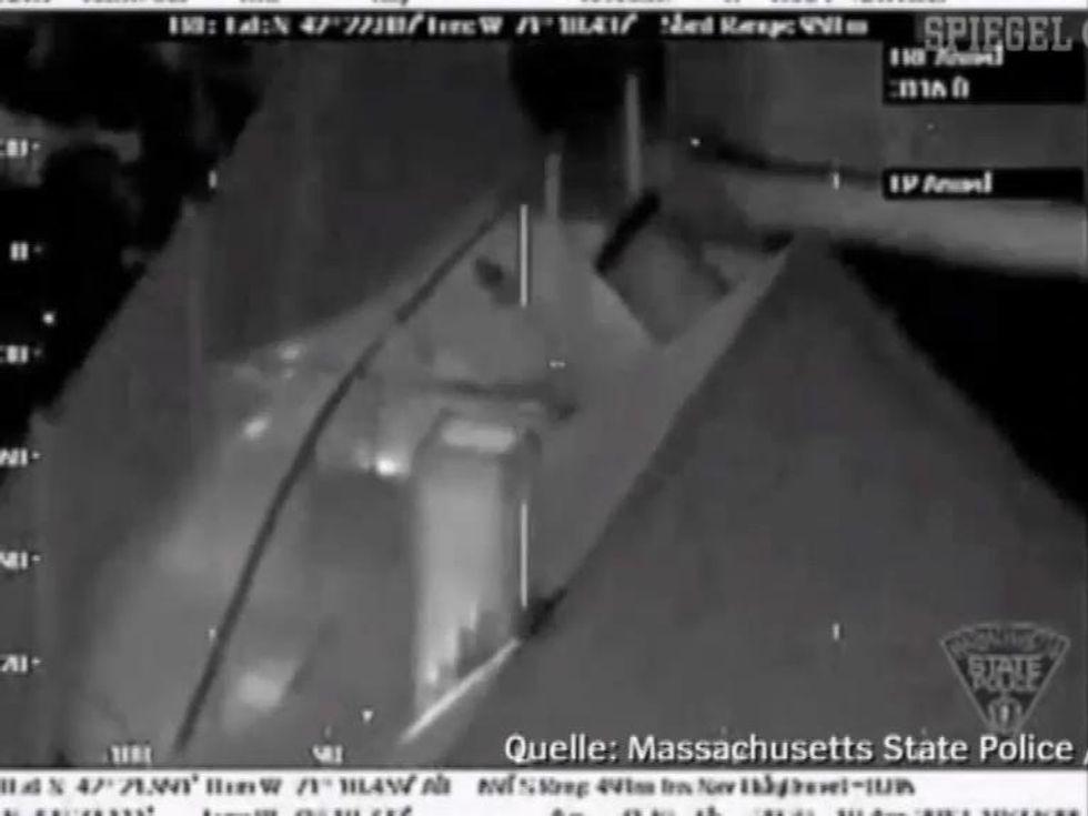 L'arresto di Dzhokhar Tsarnaev