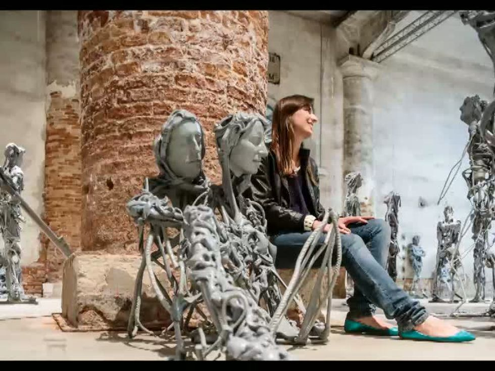 Venezia, immagini dalla Biennale