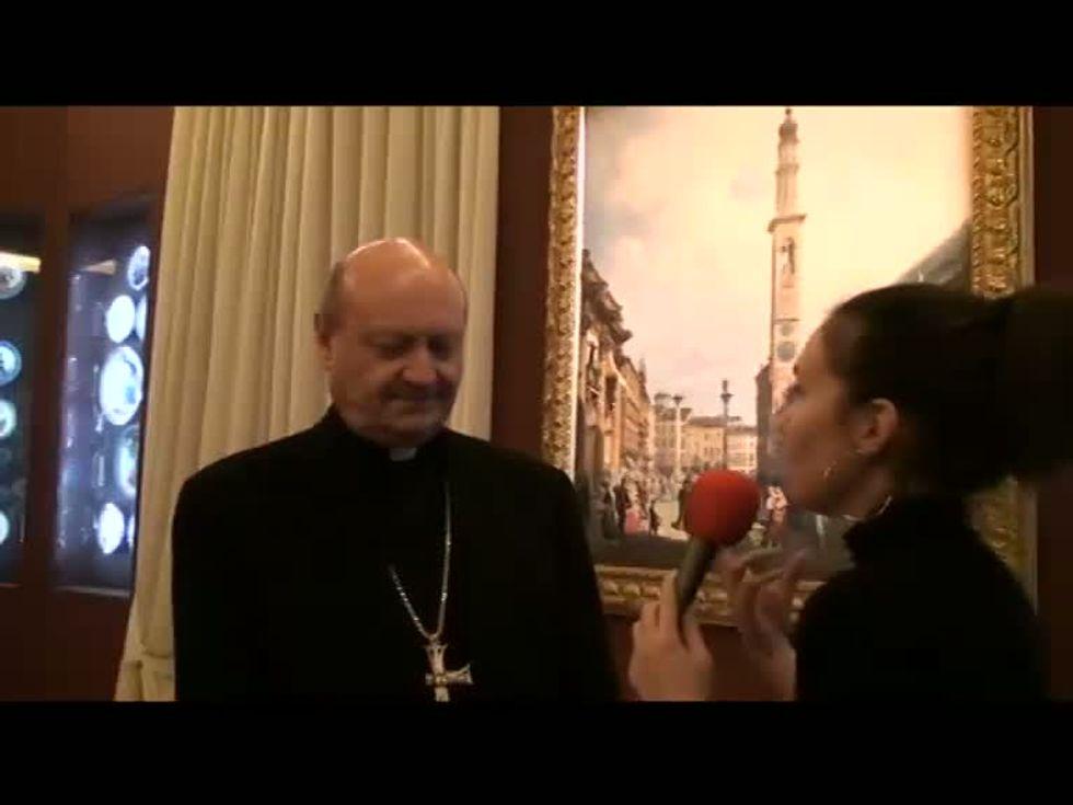 Festival Biblico, l'intervista a Monsignor Gianfranco Ravasi