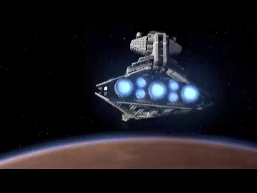 Star Wars, la parodia con i Lego