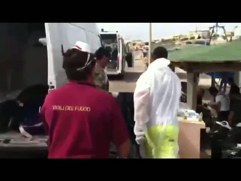 Anche l'Esercito a Lampedusa