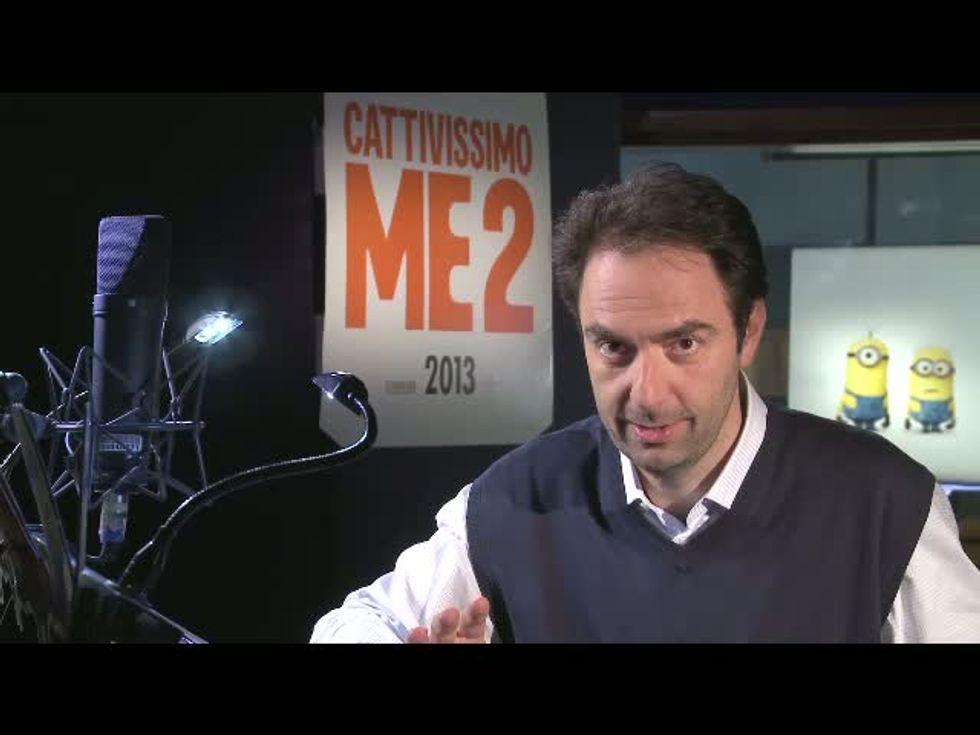 Cattivissimo me 2, il video-saluto del Macho Neri Marcorè