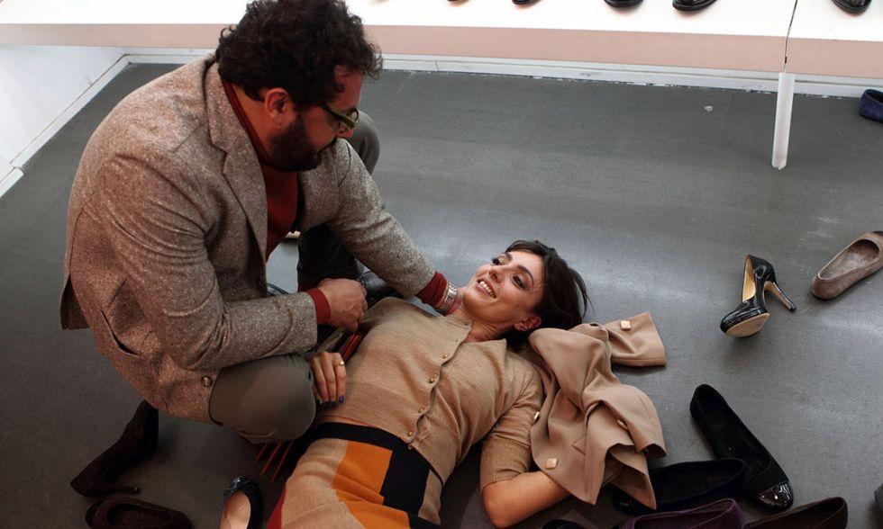 Stai lontana da me, video-intervista a Enrico Brignano e Ambra Angiolini
