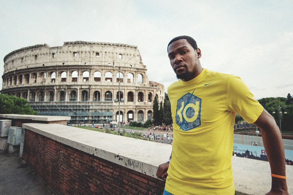 Kevin Durant, re di Roma