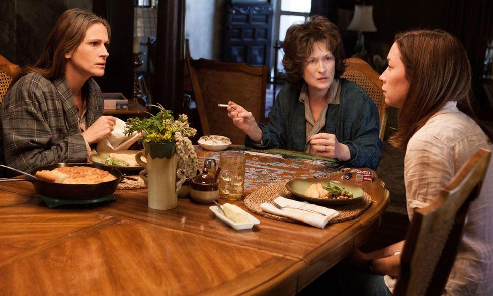 I segreti di Osage County, video-interviste a Meryl Streep e Julia Roberts