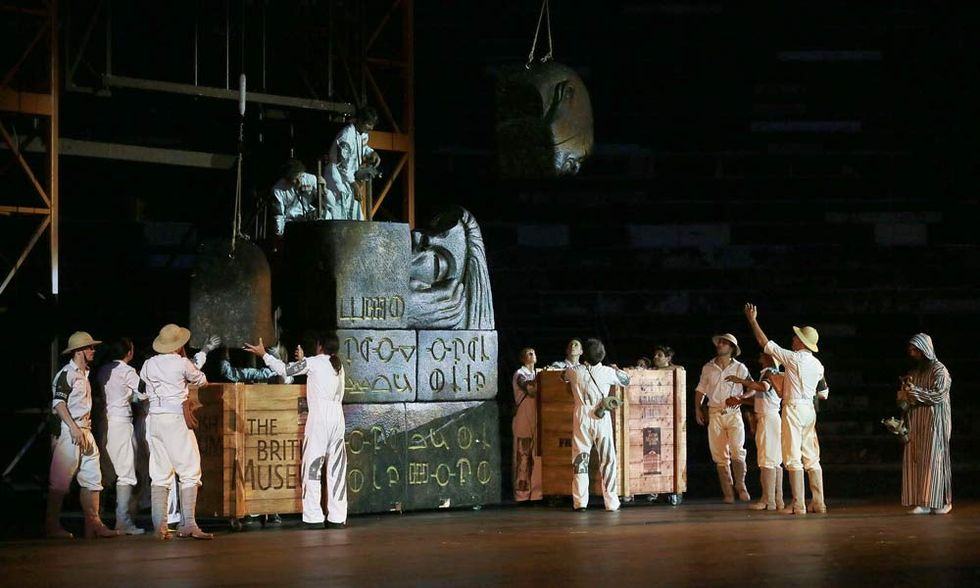 L'Aida de La Fura dels Baus, dall'Arena di Verona al cinema - Video