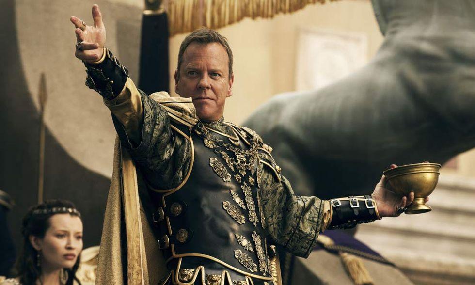 Pompei, il film: video-intervista a Kiefer Sutherland