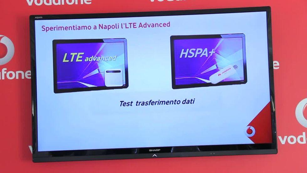 Vodafone: ecco il primo test di velocità sull'LTE avanzato