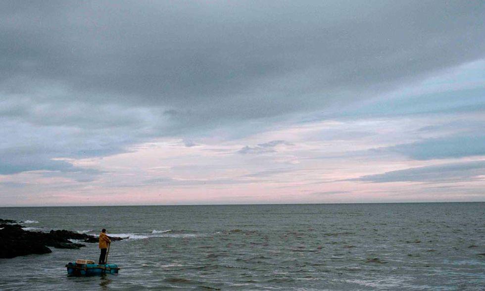 Il superstite, l'oceano e la Scozia nel film di Paul Wright - Video