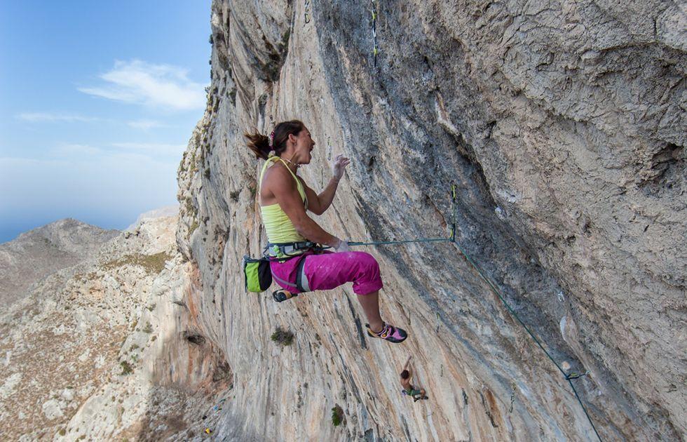 Caroline Ciavaldini, la regina del climbing
