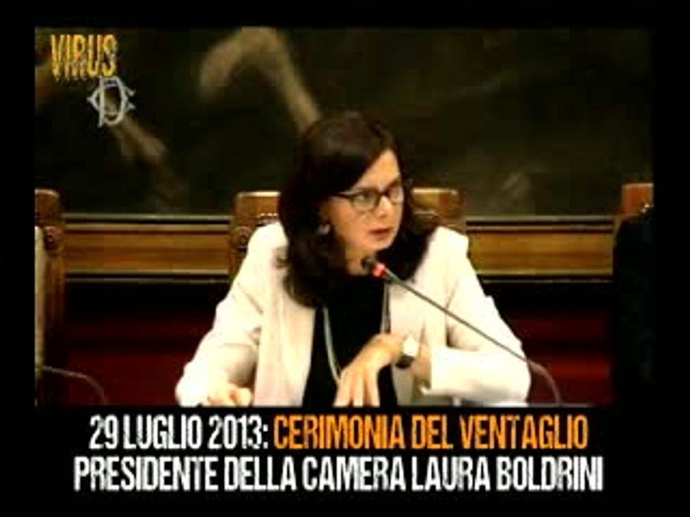 """La promessa della Boldrini: """"Rinuncerò ai voli di stato"""""""