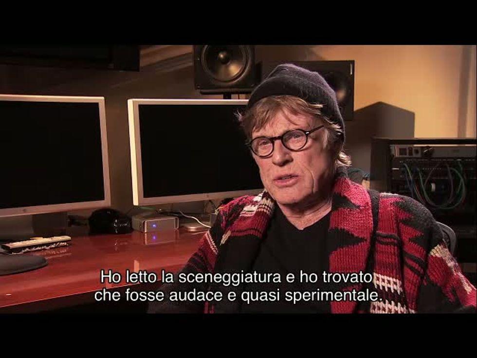 All is lost - Tutto è perduto: video-intervista a Robert Redford