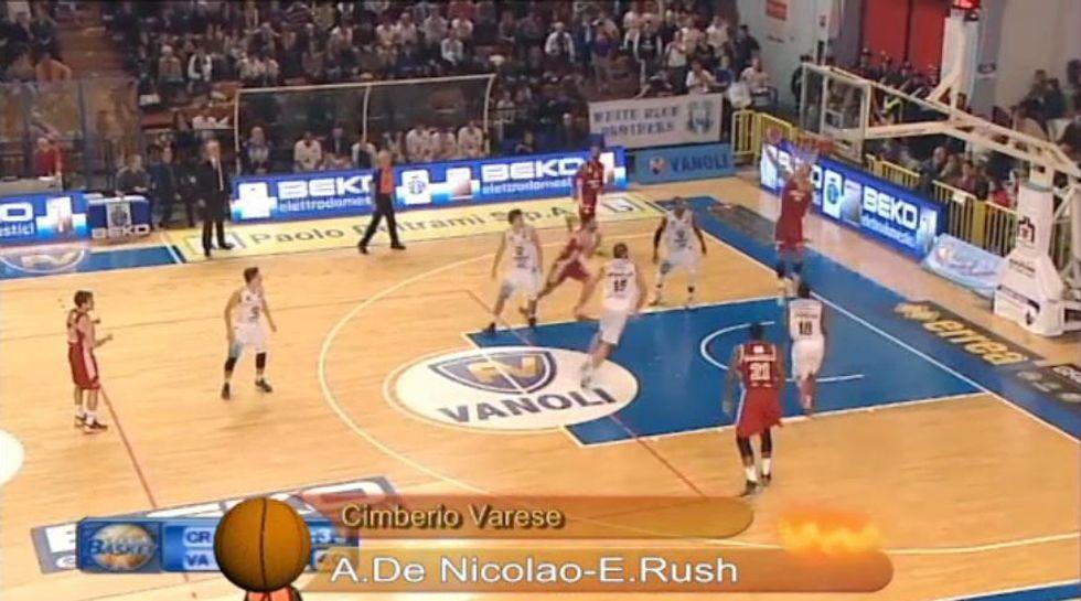 Basket, serie A: il meglio della 13a giornata