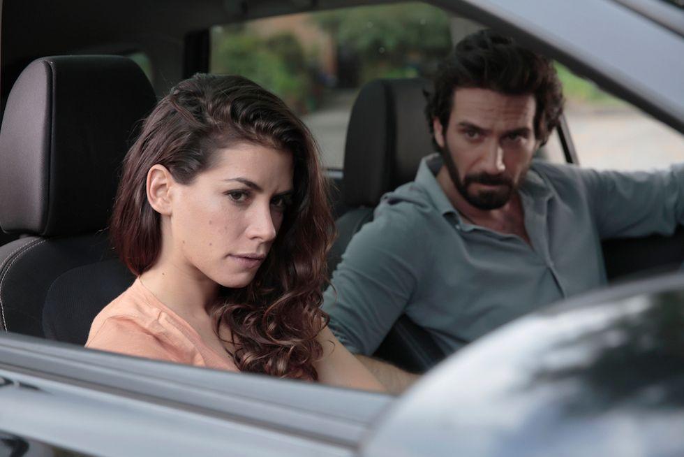Rosy Abate -La serie Mario Sgueglia e Giulia Michelini Canale 5