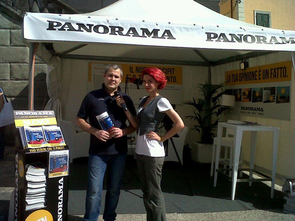 Incontro con l'autore a Open Panorama