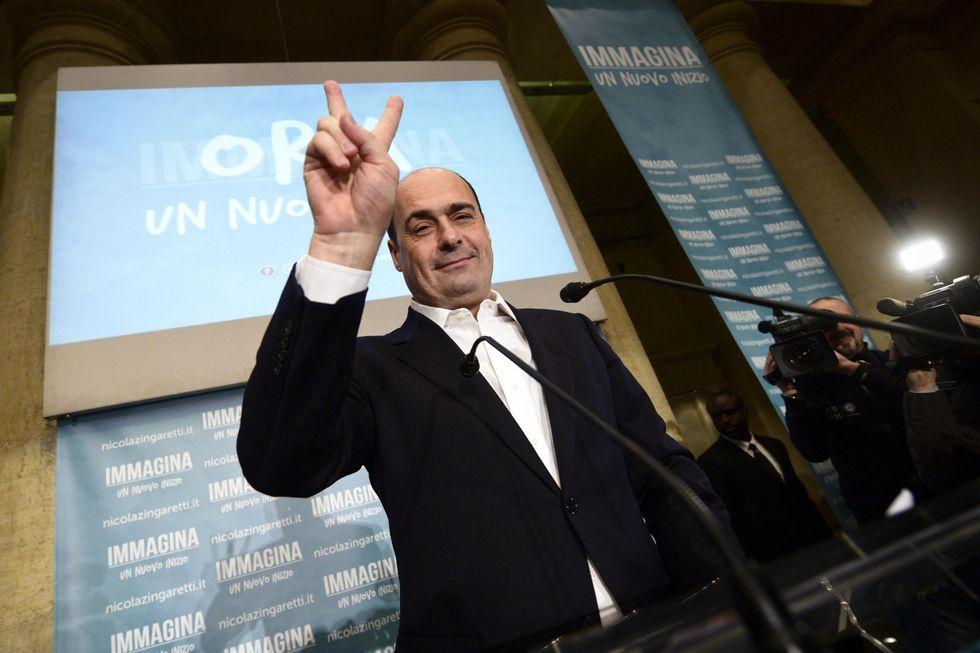 Zingaretti, l'unico Pd che vince (senza primarie)