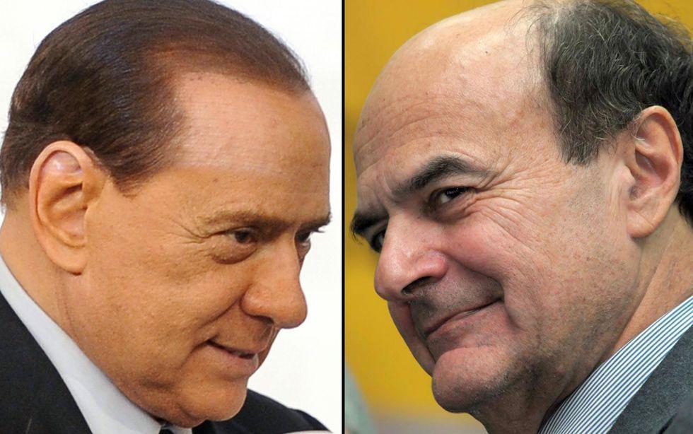 Berlusconi e Bersani: trattativa ancora aperta