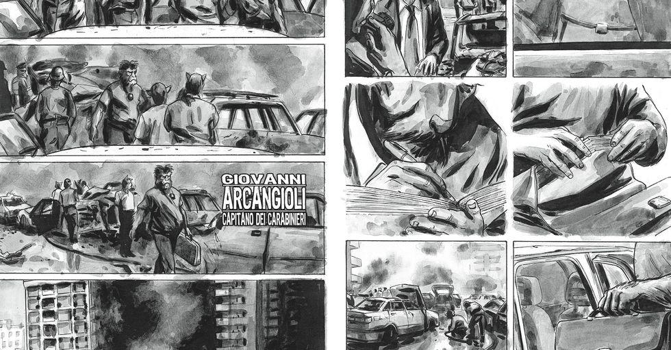 """L'agenda rubata di Borsellino: """"Nel nostro libro c'era già tutto"""""""
