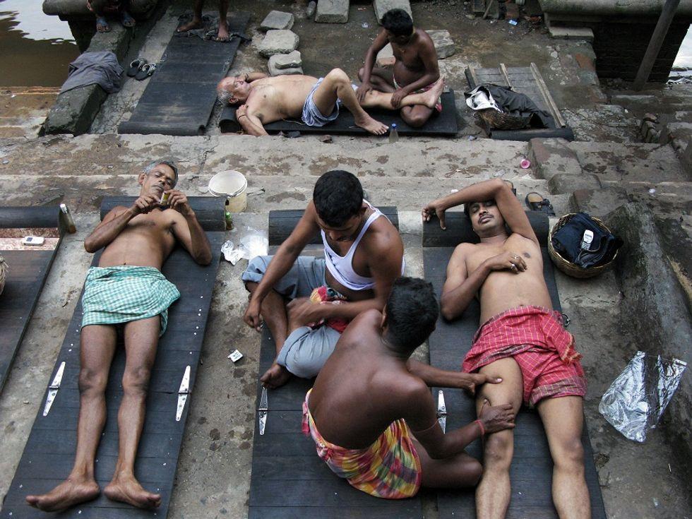 I massaggiatori erotici di Mumbai