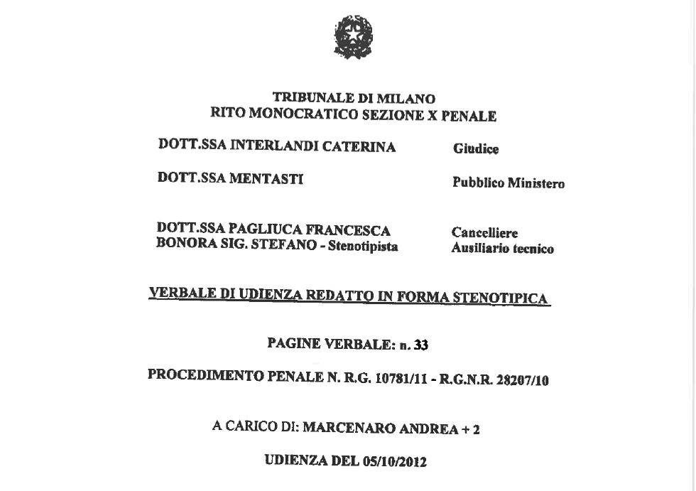 Caso Mulè: il verbale di Francesco Messineo