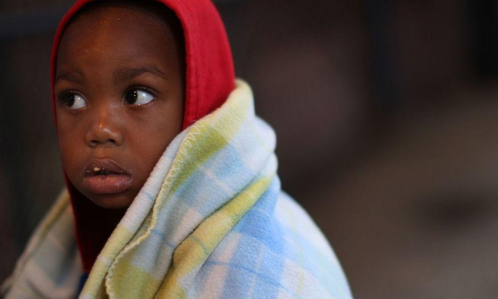 Bambini senza tetto a New York