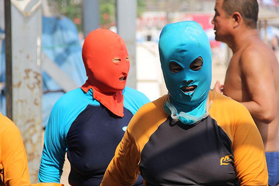 Il cinese mascherato