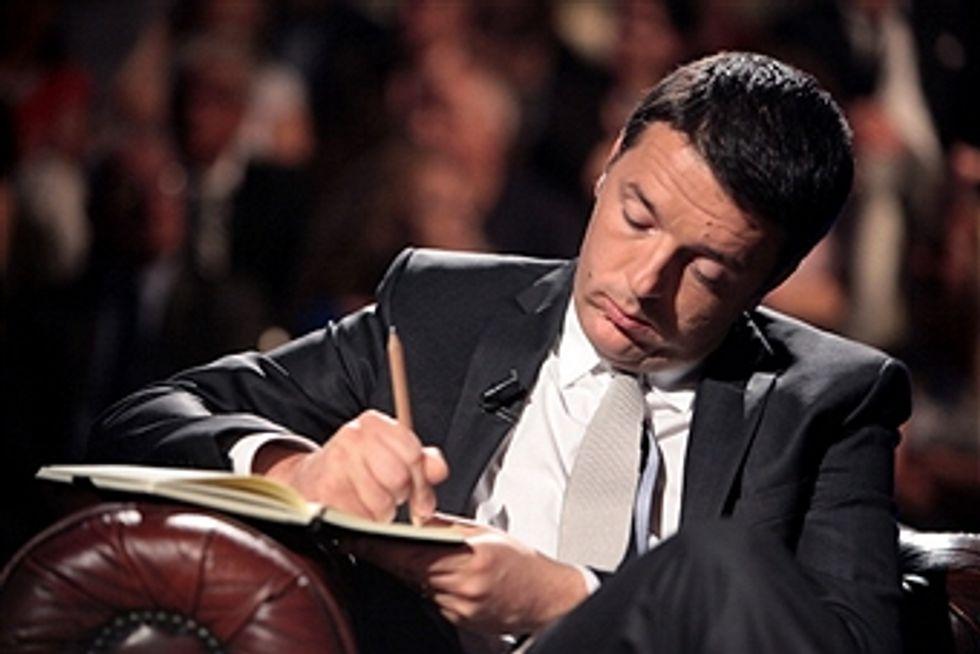 Renzi e le sue mille ambizioni