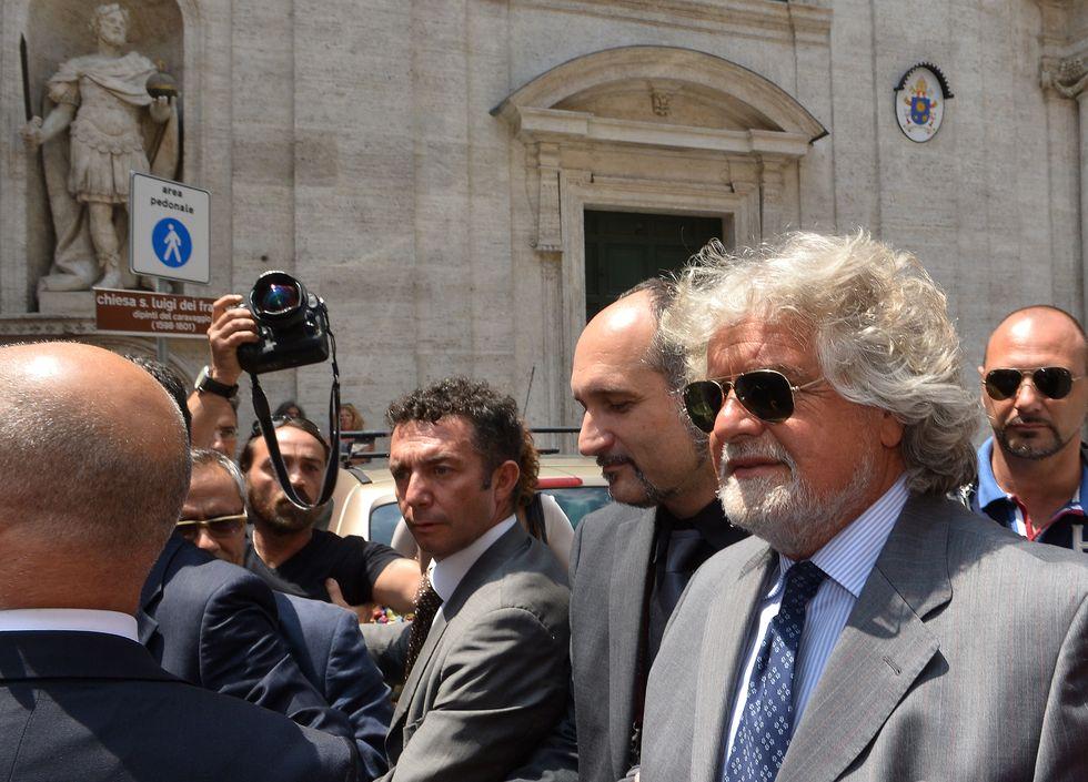 """""""Buongiorno, guru"""". I retroscena dell'incontro tra Napolitano-Grillo-Casaleggio"""