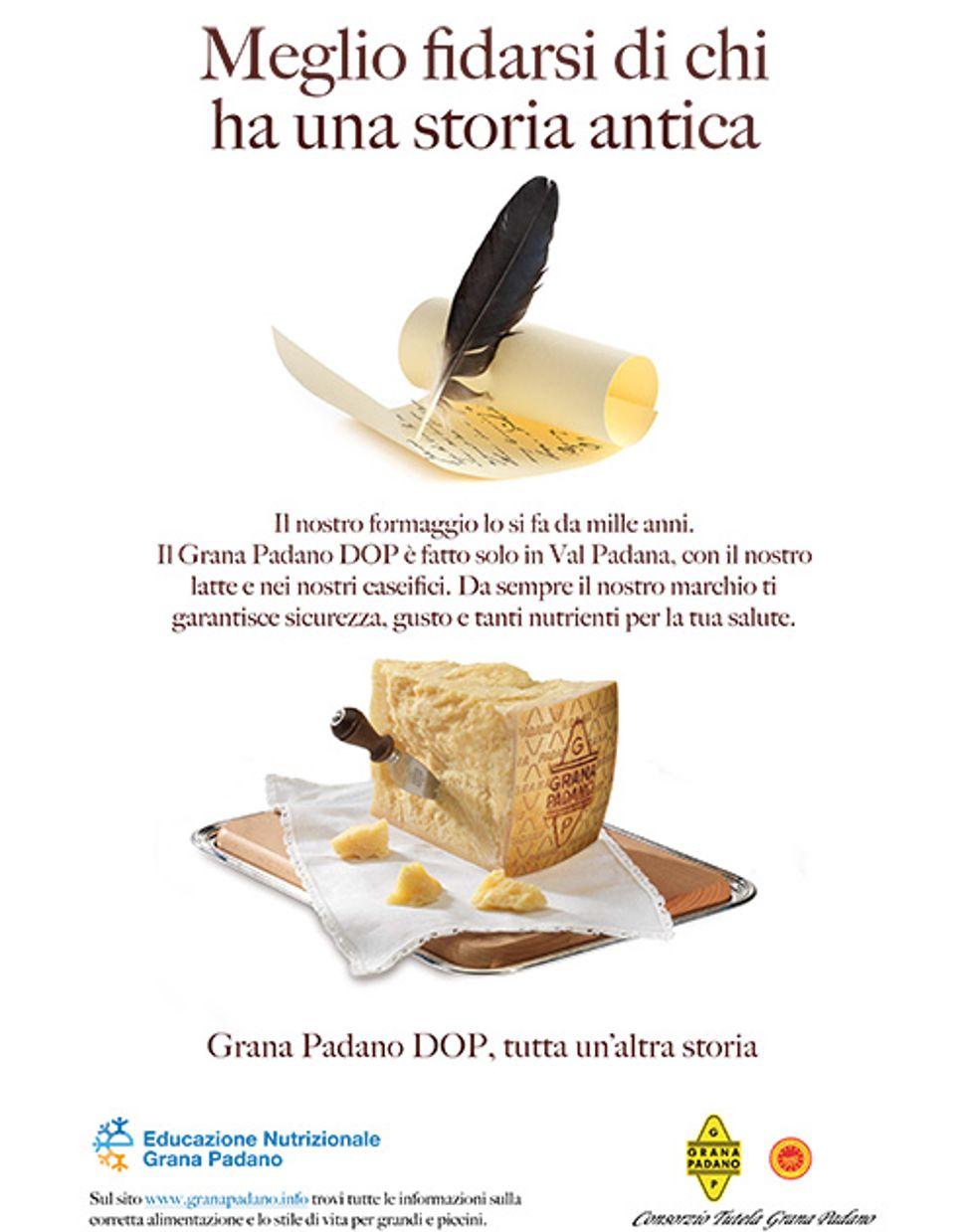 Il Don Chisciotte sardo contro il Grana Padano