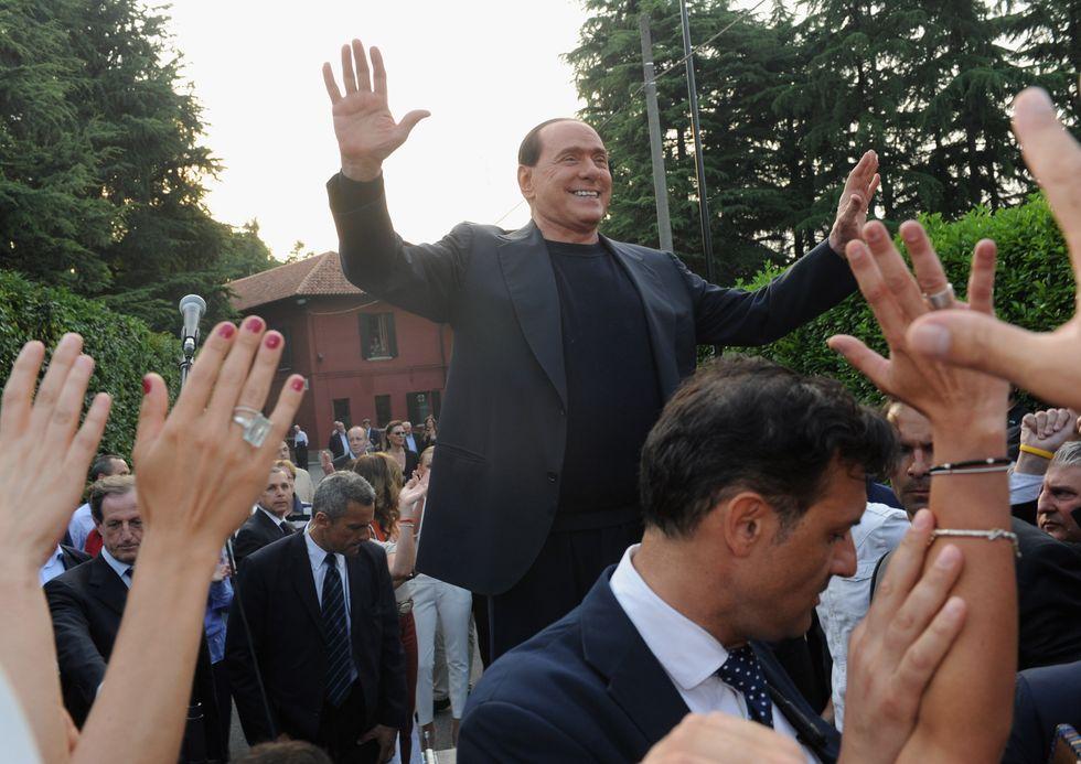 "La ""pacatezza"" di Berlusconi"