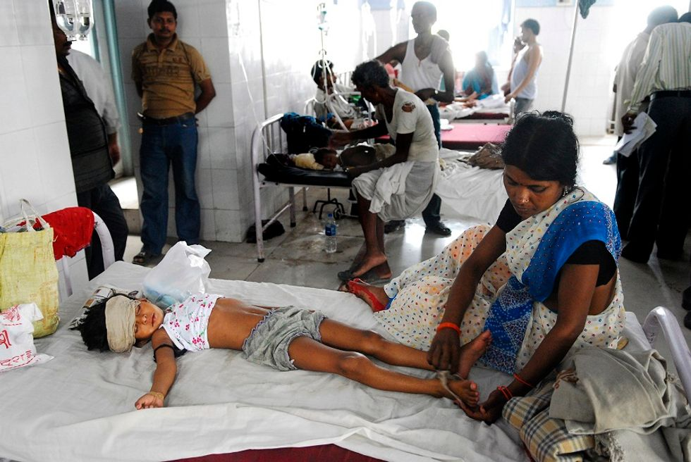 L'India e l'epidemia misteriosa che uccide i bambini