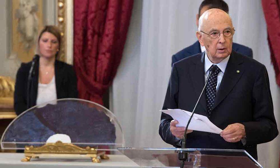 Napolitano blinda Alfano e Letta