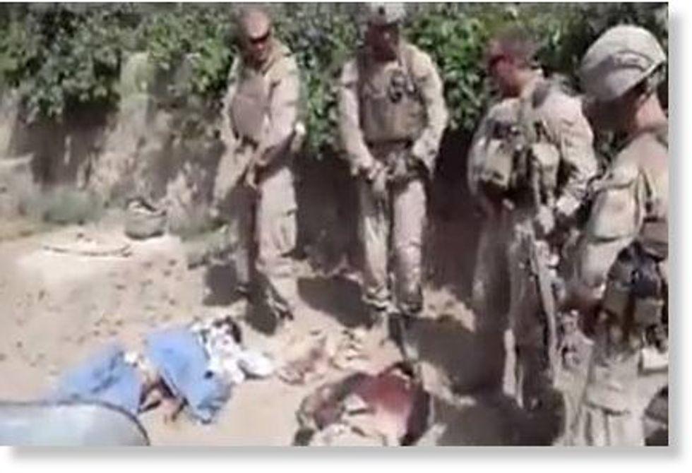 Urinò sui talebani morti ma non si pente